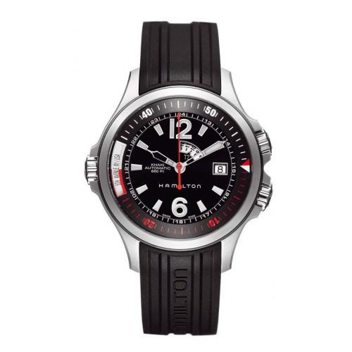 Hamilton Khaki Navy GMT watch H77555335