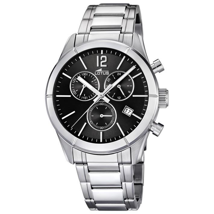 Reloj Lotus Khrono Cron 243 Metro Hombre 15849 6