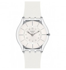 Swatch Skin watch White Classiness SFK360