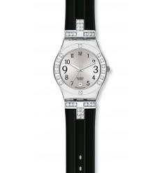Swatch Irony Medium watch FANCY ME BLACK YLS430C