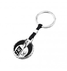 LS1761-7/2 Key Style Lotus Marc Marquez polished stainless steel