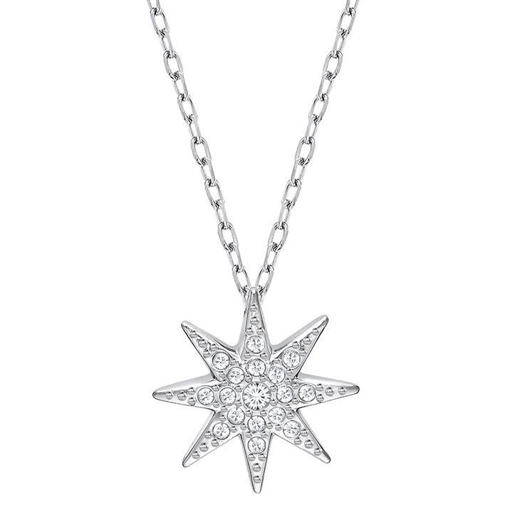 Colgante estrella swarovski fizzy con ba o de rodio 5230280 for Bano de rodio precio