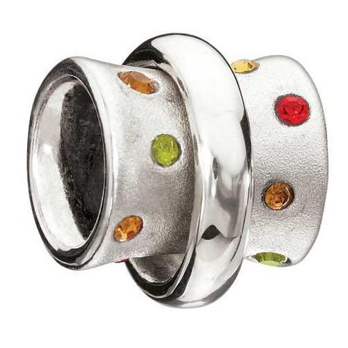 Beading STELLA amber, chianti and green. 2040-008