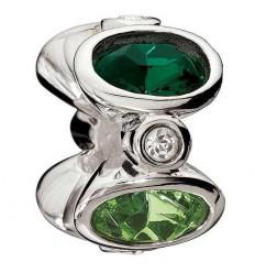 Beading MAJESTIC green OVALS. 2083 - 0206