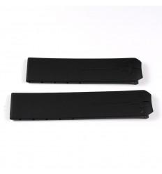 Black rubber strap Tissot T-Touch T610014614 models Z253/353