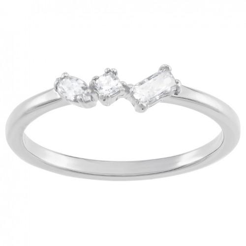Ring Swarovski Frisson Mixed Cuts 5370999 5351767 transparent stones