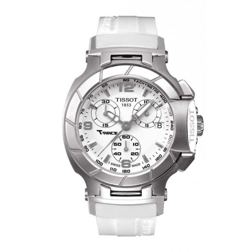 Tissot T-Race Lady watch white T0482171701700