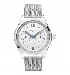 Montblanc Heritage Monopusher Chronograph 119952 milanese steel bracelet