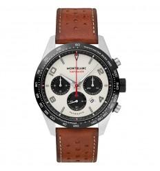 Montblanc TimeWalker Manufacture Chronograph 118488 White dial