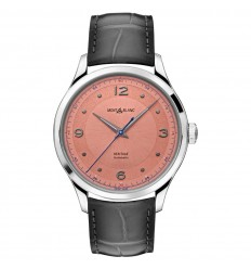 Montblanc Heritage Automatic watch 119944 Salmon dial Leather strap