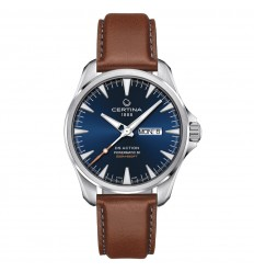 Certina DS Action Day-Date Powermatic 80 Blue dial C0324301604100