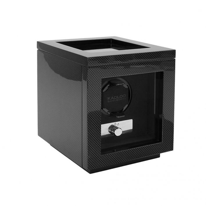 Caja Para Reloj Autom 225 Tico De Fibra De Carb 243 N Cube One