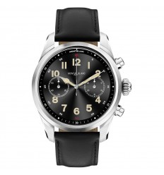Montblanc Summit 2+ Smartwatch 127647 black calfskin strap