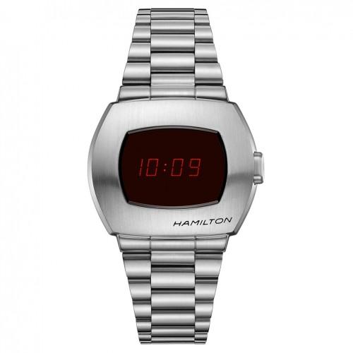 Hamilton digital PSR watch Stainless steel Quartz H52414130