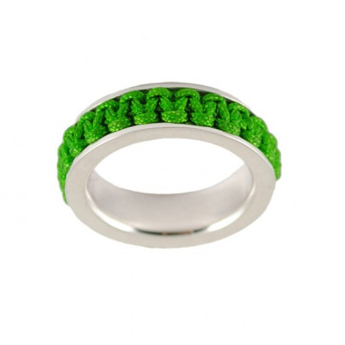 Ring silver Mikrama color green AN5010MI0106