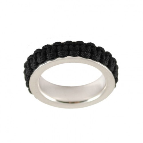 Ring silver Mikrama black AN5002MI0106 color