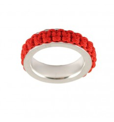 Ring silver Mikrama red AN5005MI0106