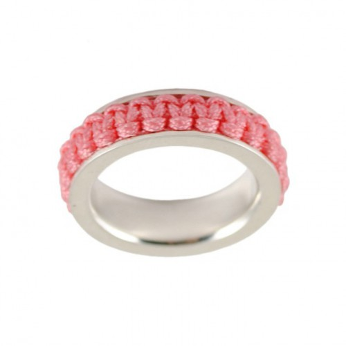 Ring silver Mikrama color pink AN5009MI0106