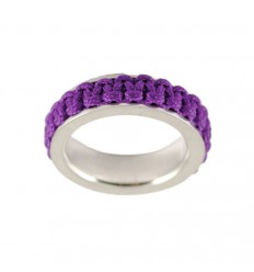Ring silver Mikrama color lilac AN5004MI0106