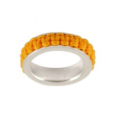 Ring silver Mikrama color mustard AN5008MI0106