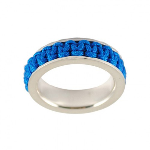 Ring silver Mikrama color blue AN5011MI0106