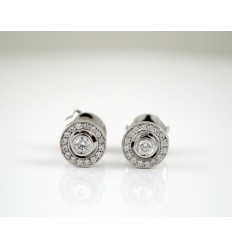 R3797 diamonds and white gold earrings