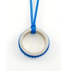 Pendant silver Mikrama PJ5011MI01 turquoise
