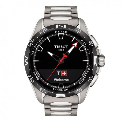 Tissot T-Touch Connect Solar titanium bracelet T1214204405100