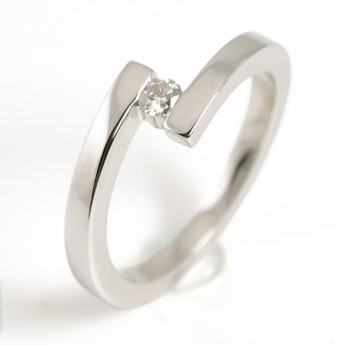 Ring white gold and diamond 78750