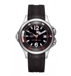 Hamilton Khaki Navy GMT watch H77555335