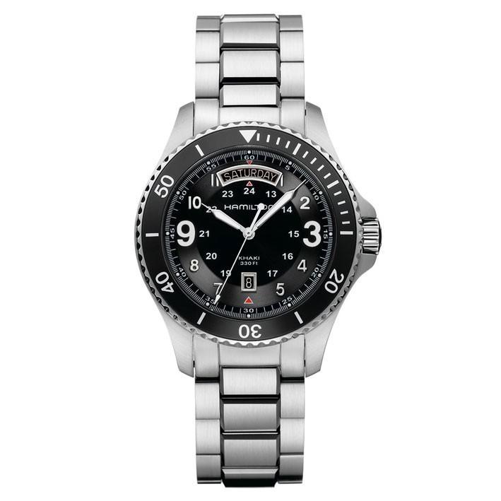 Navy Scuba Hamilton H64511133 Reloj Khaki 43ARqS5jcL