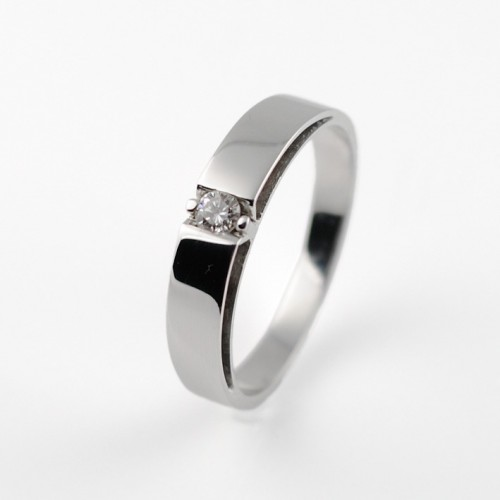 Ring white gold and diamond 00003