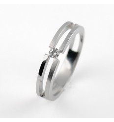 Ring white gold and diamond BR1565S
