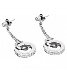 Earrings Lotus Style Rainbow LS1361-4/1