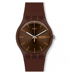 Swatch New Gent cocoa Rebel SUOC703