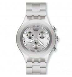 Swatch Diaphane Chrono Full-Blooded Silver SVCK4038G