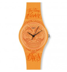 Swatch Original Gent Time Never Dies Orange GO110