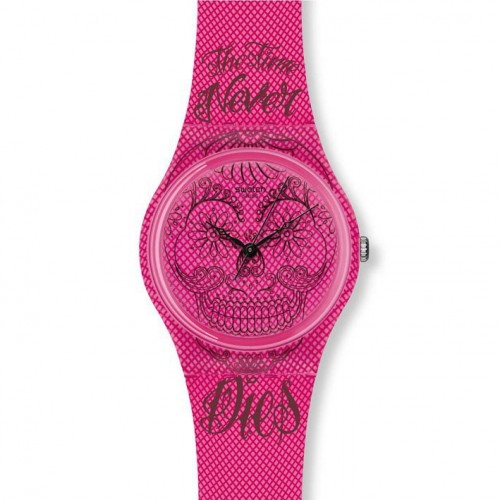 Swatch Original Gent Time Never Dies GP138 Pink