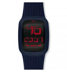 Swatch Touch watch. Dark Blue. SURN101