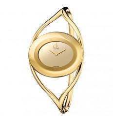 Calvin Klein Delight watch PVD Gold K1A23809 K1A23909