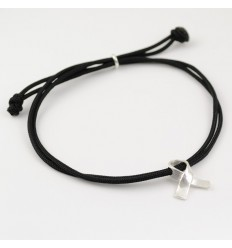Bracelet silver Marató TV3 black BR502MM01