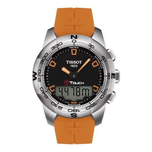 Tissot T-Touch II Orange watch T0474201705101