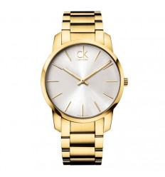 Calvin Klein watch CK City PVD Gold K2G21546