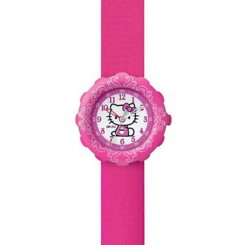 Flik Flak Hello Kitty Pink Watch and Purse FLS016