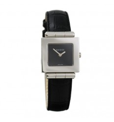 Gucci Leather Strap Watch. 6131
