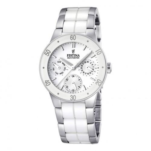 Festina Ceramic Multifunction Watch F16530/1 Women