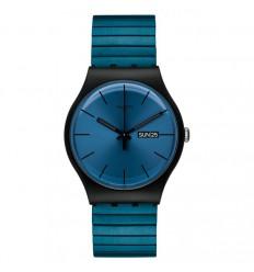 Swatch New Gent watch Blue Resolution SUOB707B SUOB707A