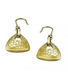 Golden Lotus Privilege Style Earrings LS1443-4/1