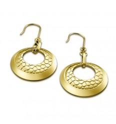 Golden Lotus Privilege Style Earrings LS1444-4/1
