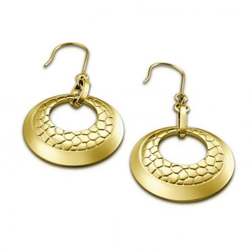 Earrings Golden Lotus Privilege Style LS1444-4/1
